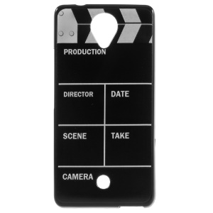Gel TPU Protective Phone Cover for Wiko U Feel - Movie Clapper Board