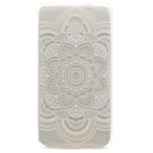 Pattern Printing TPU Protective Case for Wiko Robby - Mandala Flowers
