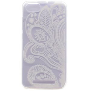 Pattern Printing TPU Case for Wiko Lenny 3 - Paisley Flowers