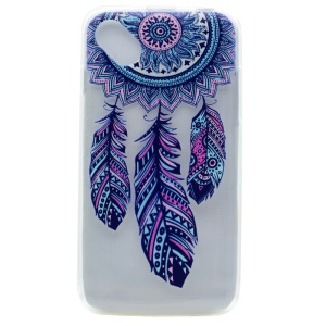 Pattern Printing TPU Cover Case for Wiko Sunny - Dream Catcher
