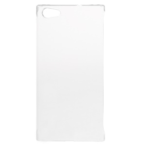 See-through Slim PC Hard Mobile Phone Case for Doogee Y300 - Transparent