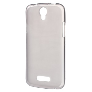 Double-sided Frosted Back TPU Protective Cover for Doogee X6/X6 Pro - Grey