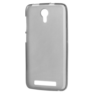 Double-sided Frosted TPU Phone Case for Doogee Valencia2 Y100 Pro - Black