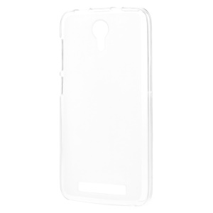Double-sided Matte TPU Protective Cover for Doogee Valencia2 Y100 Pro - White