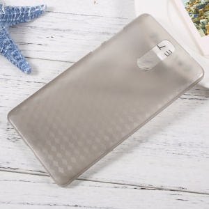 Geometric Pattern Hard PC Case for Doogee Y6 Max - Grey