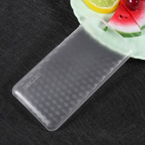 Plastic Protective Mobile Phone Back Case for Doogee Shoot 2 - Transparent