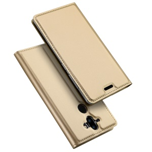 DUX DUCIS Skin Pro Series PU Leather Card Holder Case for Nokia 9 / 8 Sirocco - Gold