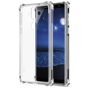 IMAK Smooth Feel Airbag Shockproof TPU Cover Case for Nokia 8 Sirocco - Transparent