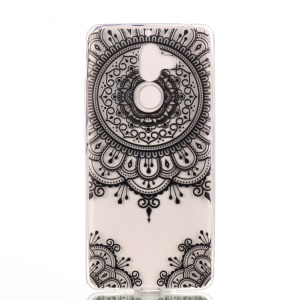 Pattern Printing Soft TPU Shell for Nokia 7 plus - Mandala Flower