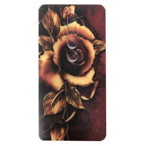For Nokia 6.1 (5.5-inch) Pattern Printing TPU Protection Back Case - Rose Pattern