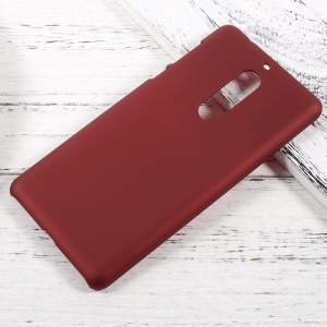Rubberized Hard Back Case for Nokia 5 - Red