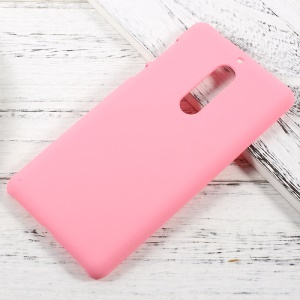 Rubberized Hard Shell for Nokia 5 - Pink