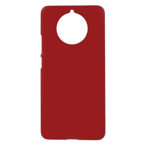 Rubberized Hard Plastic Protection Case for Nokia 9 PureView - Red
