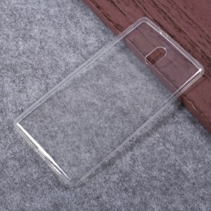 Transparent Soft TPU Protective Back Case Cover for Nokia 3