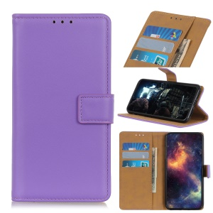 Wallet Leather Stand Case for Nokia 4.2 - Purple