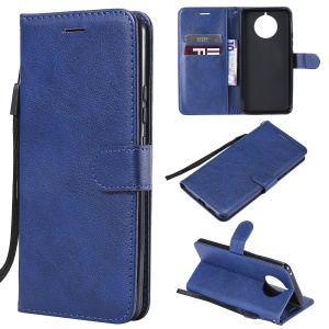 Wallet Leather Stand Case for Nokia 9 PureView - Blue