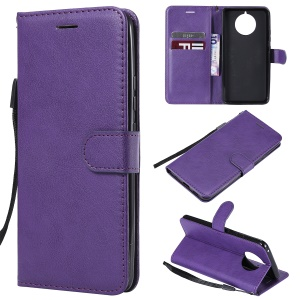 Wallet Leather Stand Case for Nokia 9 PureView - Purple