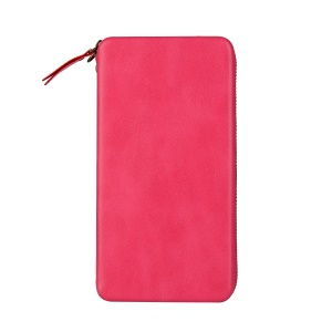 Shell Style Wallet Leather Sleeve Pouch for iPhone 8 Plus/7 Plus / Samsung S8 Etc, Size: 165 x 80 x 15mm - Rose