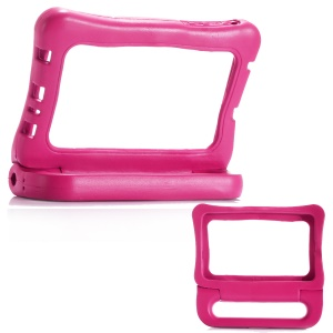 7-inch Universal Shockproof Kids EVA Bumper with Handle Kickstand for Huawei MediaPad T3 7.0 / LG G Pad 7.0 etc - Rose