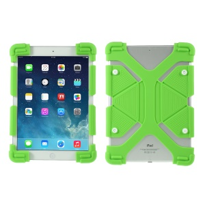 Universal Silicone Flexible Protector Case for iPad 9.7 (2018)/Pro 10.5 (2017) - Green