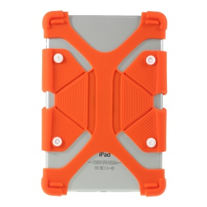 Universal Silicone Flexible Protector Shell for iPad 9.7 (2018)/Pro 10.5 (2017) - Orange