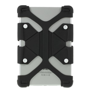 Custodia Universale Flessibile Per Tablet In Silicone Per Ipad 9.7 (2018) / Pro 10.5 (2017) - Nero