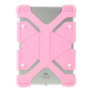 Universal Silicone Flexible Protector Cover for Lenovo Tab3 7 Plus / LG G Pad 7.0 - Pink