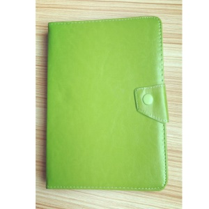 Universal PU Leather Stand Protective Shell for 9.7 inch 10 inch 10.1 inch Tablets - Green