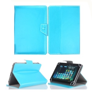Universal PU Leather Stand Tablet Case Cover for 9.7 inch 10 inch 10.1 inch Tablets - Baby Blue
