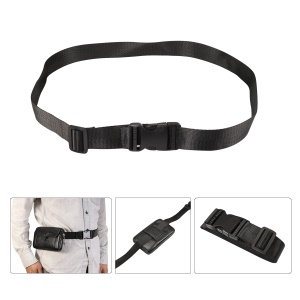 Adjustable Nylon Waist Work Belt with Quick Release Buckle for Pouches, Adjustable Range: 60-110cm