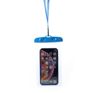 6.5 inch Universal ABS + PVC Waterproof Phone Pouch Bag for iPhone Samsung Huawei etc., Size: 170 x 98mm - Blue