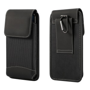 5.5 inch Universal Wear-resistant Oxford Cloth Belt Clip Phone Pouch Case for iPhone Samsung Huawei Etc.