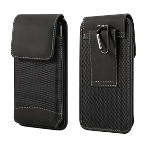 4.7-5.2 inch Universal Wear-resistant Oxford Cloth Belt Clip Phone Pouch Case for iPhone Samsung Huawei Etc.