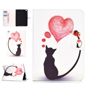Cat Painting Heart