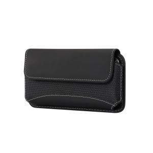 4.7-5.2 inch Universal Oxford Cloth Phone Pouch with Belt Clip for Men (Horizontal Style), Size: 15 x 7.5 x 1.8cm