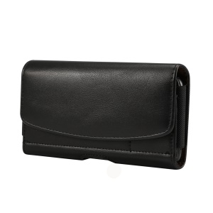 6.3-6.9 inch Horizontal Style Universal PU Leather Case with Belt Clip for Men, Size: 17.5 x 8.7 x 1.8cm