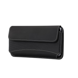 5.7-6.3 inch Oxford Cloth Universal Case Phone Pouch Bag with Belt Clip for Men (Horizontal Style), Size: 16.5 x 8.3 x 1.8cm