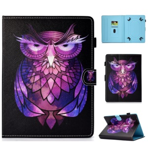 10 inch Patterned Universal PU Leather Card Holder Tablet Case Cover