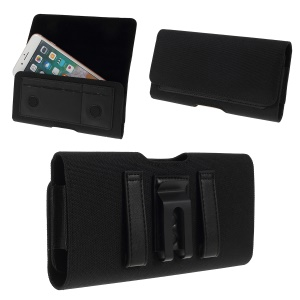5.2-inches Waist Leather Phone Case