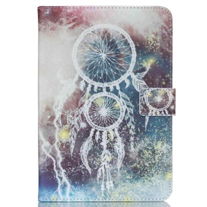 Protective Leather Cover for Samsung Galaxy Tab E 9.6 - Dream Catcher