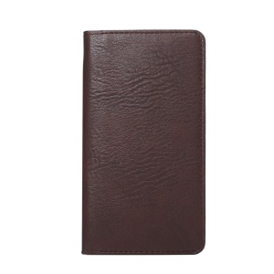 Elephant Skin Wallet Leather Pouch Cover for Samsung Galaxy S7/ Sony Xperia Z5, Size: 154 x 82mm - Brown