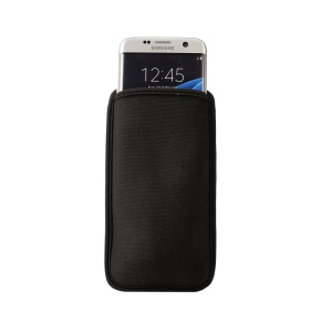 Cassa del manicotto del neoprene Custodia per Samsung Galaxy S7 bordo G935, Dimensioni: 165 x 90 mm