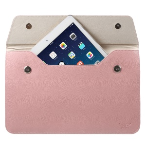 Litchi Texture Leather Tablet Sleeve for Samsung Galaxy Tab 2 10.1P5100 -  Pink