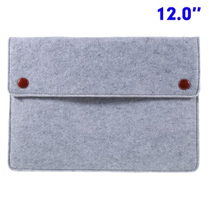 Universal Laptop Sleeve Bag for MacBook 12-inch / Air 11-inch - Grey