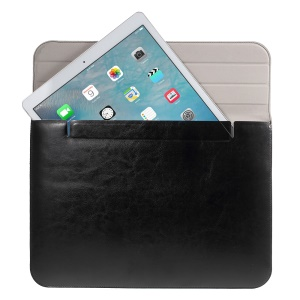 Textured Tri-fold Universal Sleeve Bag for MacBook Pro Air 13.3 inch - Black