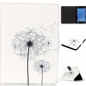 Universal Stand Leather Tablet Shell for Samsung Galaxy Tab 4 7.0 T230 - Dandelion