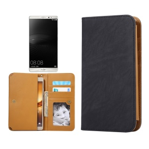 Universal PU Leather Case for Samsung S7 Edge/iPhone 7 Plus/ 6s Plus, Size: 166 x 85 x 10mm - Black