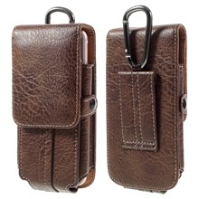 Outdoor Camping Hiking Card Holder Bag Pouch for iPhone 7 Plus/ 6s Plus, Size: 175x85x15mm - Coffee