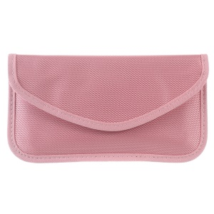 Anti-radiation Signal Blocking Pouch Case for iPhone 6s Plus/Samsung A9 Etc - Pink