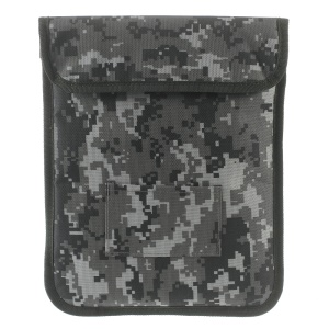 Universal D100 Camouflage Pouch Case for iPad Pro 9.7 inch, Size: 26.5 x 21cm - Grey